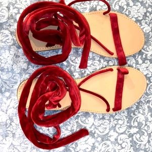 Nwt Forever 21 boho sandala